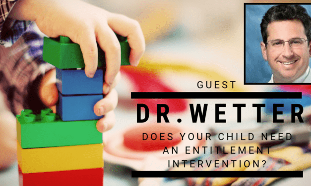 Episode 80: Kid Alert! Does Your Child Need An Entitlement Intervention? Dr. Michael Wetter